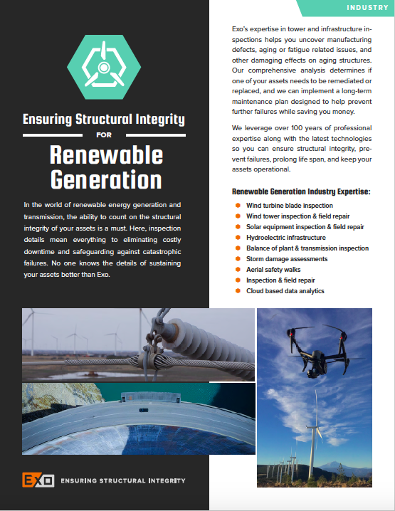 Renewable Generation info